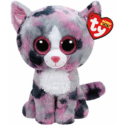 Ty Beanie Boo Buddy - Lindi the Cat Soft Toy