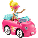 Barbie® On The Go™ Pink Car and Doll
