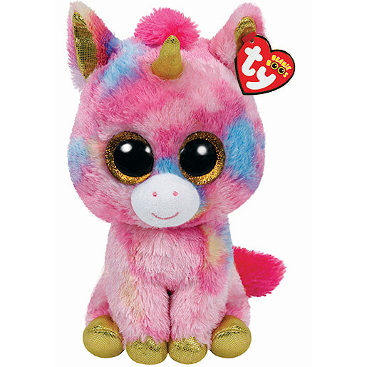 Ty Beanie Boo Buddy - Fantasia the Unicorn Soft Toy