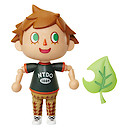 World of Nintendo Animal Crossing Villager 10cm Figure