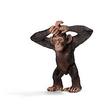 Schleich Young Chimpanzee Figure