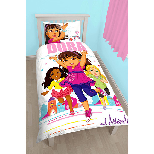 Dora Citygirl Single Duvet Set