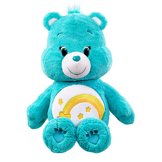 Image of Care Bears 50cm Soft Toy - Wish Bear