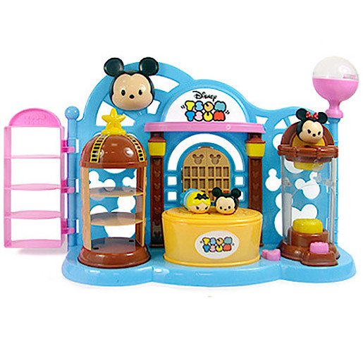 Disney Tsum Tsum Squishy Figure Toy Shop Playset