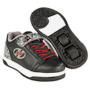Heelys X2 Black and Grey Elephant Dual Up Skate Shoes - Size 11