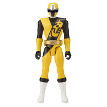 Power Ranger Super Ninja Steel 30 cm Yellow Ranger