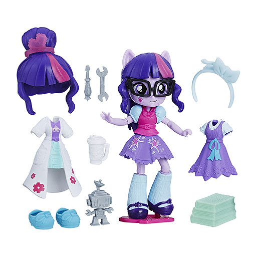 My Little Pony Equestria Girls Minis Switch n Mix Fashions - Twilight Sparkle