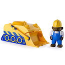 Noddy Rev 'n' Go Pullback Vehicle with Figure - Builder & Bulldozer