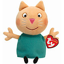 TY Peppa Pig & Friends Beanie Buddy Soft Toy - Candy Cat