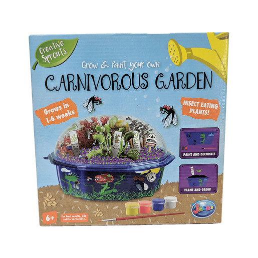 Grow and Decorate Your Own Carnivorous Garden