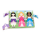 Melissa & Doug Wooden Princess Dress Up Peg Puzzle