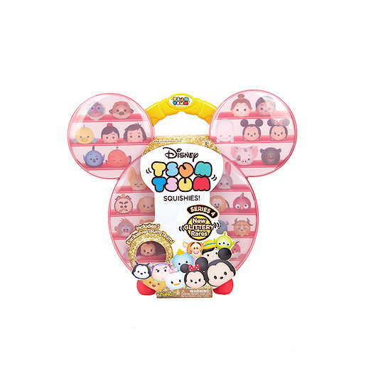Disney Tsum Tsum - Squishies Series 4 Carry Case
