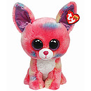Ty Beanie Boo Buddy - Cancun Pink Chihuahua  Soft Toy