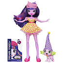 My Little Pony Equestria Girls Rainbow Rocks Doll Twilight Sparkle and Spike the Puppy Figure
