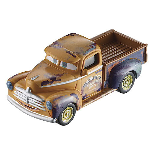 Disney Pixar Cars 3 Smokey Vehicle