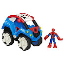 Playskool Heroes Marvel Super Hero Adventures Spider-Man Buggy with Figure