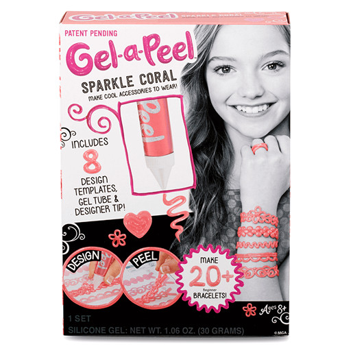 Gel-A-Peel Starter Kit - Sparkle Coral
