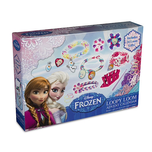 disney frozen loopy loom advent calendar the entertainer. Black Bedroom Furniture Sets. Home Design Ideas