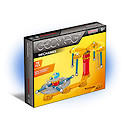 Geomag Mechanics Construction Set - 78 Pieces