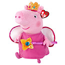 Ty Peppa Pig Buddy - Princess Peppa Soft Toy