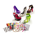 Crayola Hot Heels Decorate Your Own Shoes Five Pack