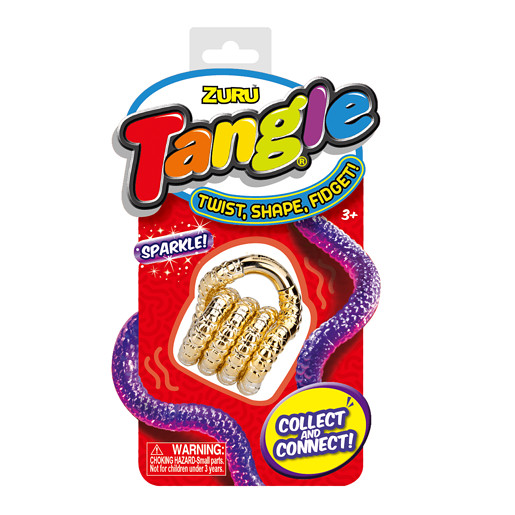Tangle Sparkle Fidget - Gold