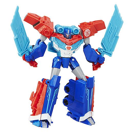 Transformers Robots In Disguise Warrior ClassPower Surge Optimus Prime Figure