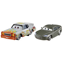 Disney Pixar Cars 2 - Race Team Bob Cutlass and Darrell Cartrip