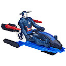 Marvel Avengers Titan Hero Iron Patriot Figure with Thruster Jet