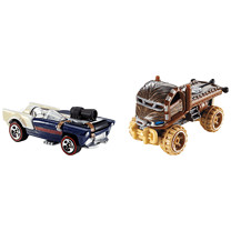 Hot Wheels Star Wars Chewbacca and Han Solo Character Cars