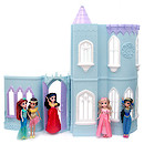 Moxie Girlz 96cm Princess Ice Castle Dolls House with 5 Moxie Fashion Dolls
