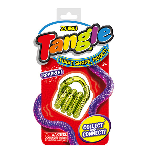 Tangle Sparkle Fidget - Yellow