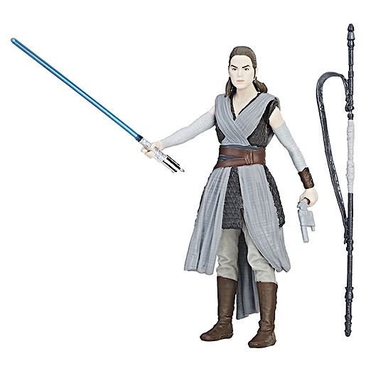 Star Wars Rey (Jedi Training) Force Link Figure