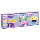Skoodle Pop Out Hard Pencil Case - Cupcake Bakery