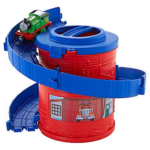 Thomas and Friends TakenPlay Portable Railway Spiral Tower Tracks with Percy
