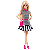 Barbie Fashionistas Doll - Stripy Dress