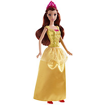 Disney Sparkle Princess - Belle Doll