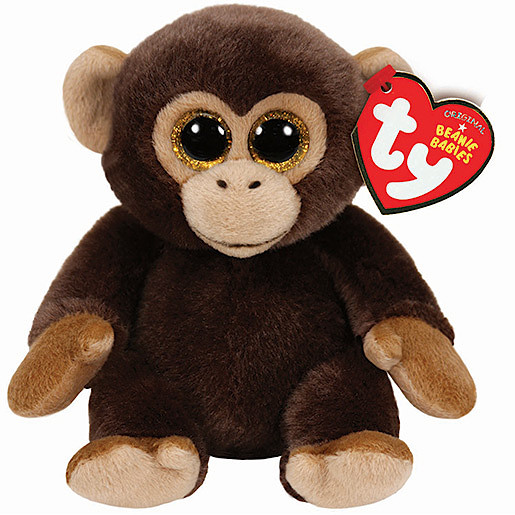 Image of Ty Beanie Babies 15cm Soft Toy - Bananas