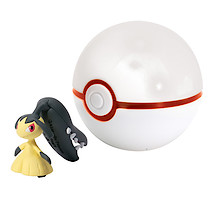 Pokemon XY Clip 'n' Carry Poke Ball - Mawile & Premier Ball