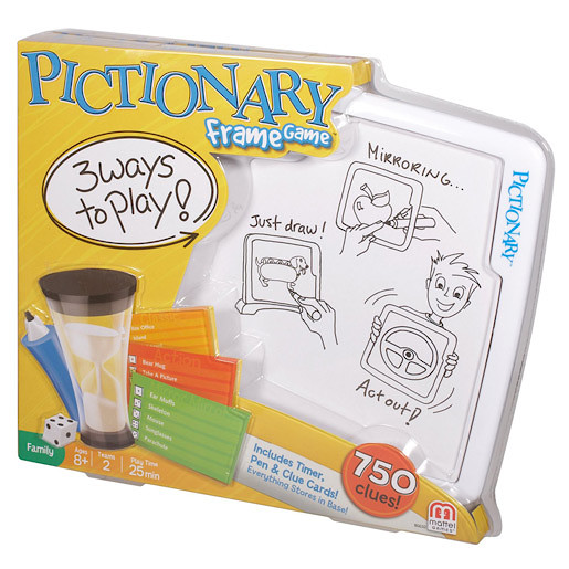 Pictionary Frame Game | Family games | Games and jigsaws | All ...
