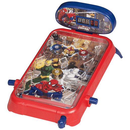 Ultimate Spiderman Pinball Game