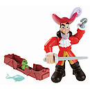 Disney Jake and the Never Land Pirates Buccaneer Battling Action Figure - Hook
