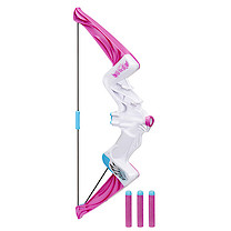 Nerf Rebelle Epic Action Bow Blaster - White