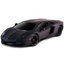 48cm Remote Control Black Lamborghini with Black Windscreen