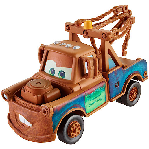 Image of Disney Cars Wheel Action Drivers Vehicle - Mater