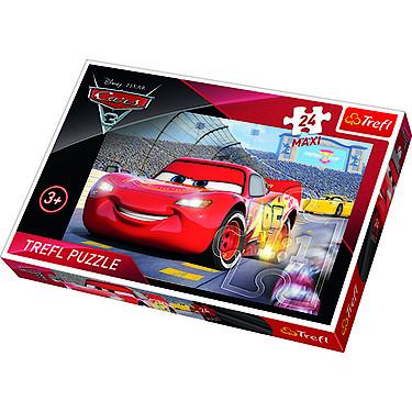 trefl disney pixar cars 3 24 piece puzzle the entertainer. Black Bedroom Furniture Sets. Home Design Ideas
