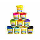 Ready Steady Dough Nick Jr Lots of Pots Set with Cutters - (10 Pots)