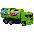 City Team Green Recycling Truck