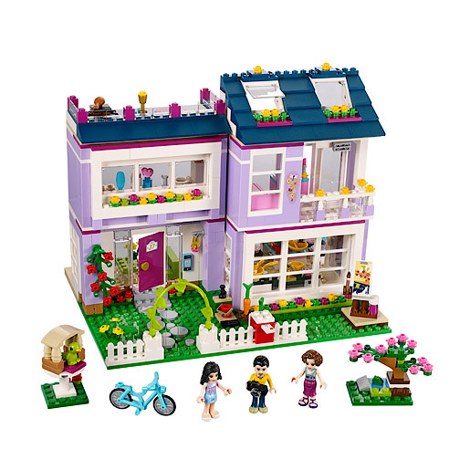 Lego Friends Emmas House 41095 The Entertainer