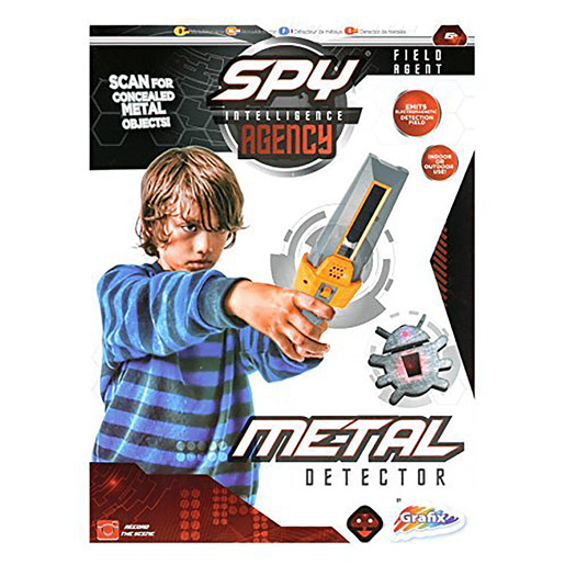 Spy Intelligence Agency Kids Secret Agent Metal Detector
